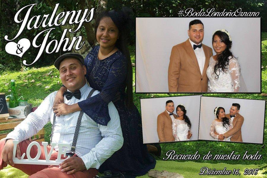 Boda Jarlenys y John