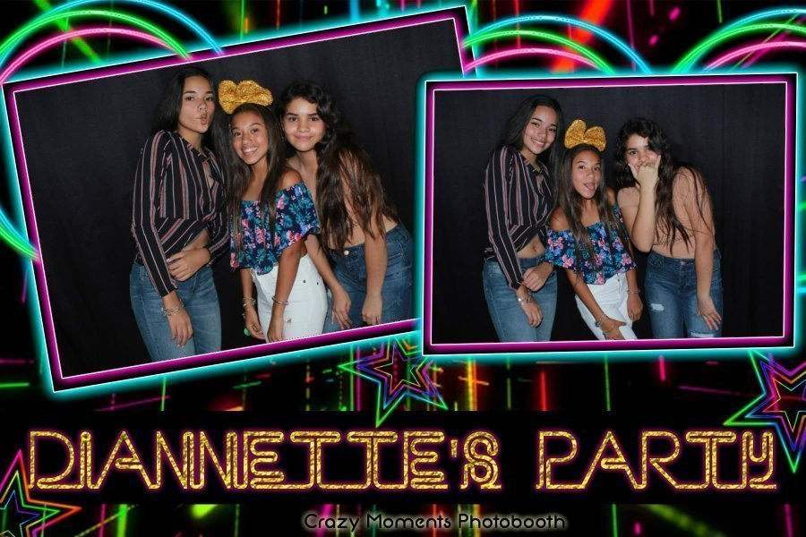 Photobooth Diannette party