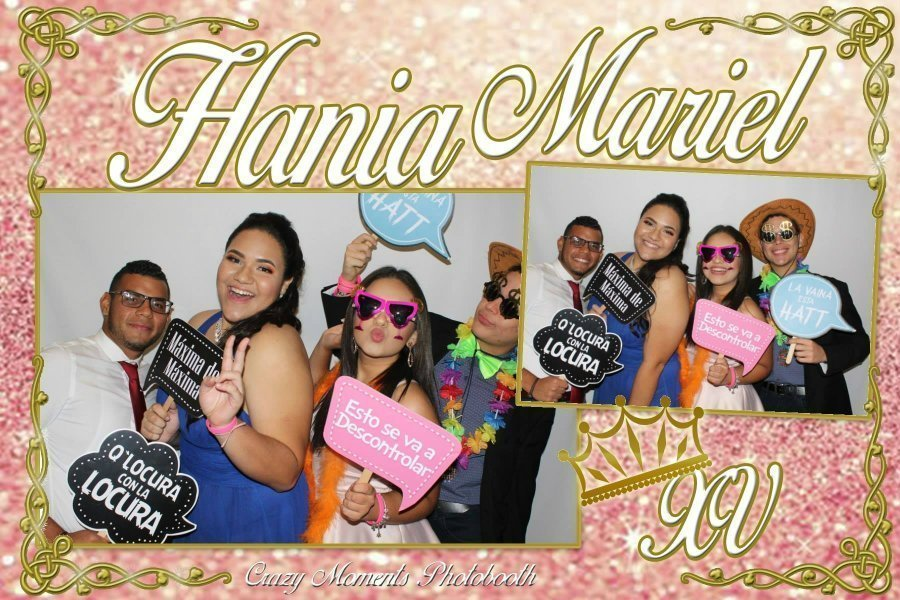Photobooth Hania quinceaños