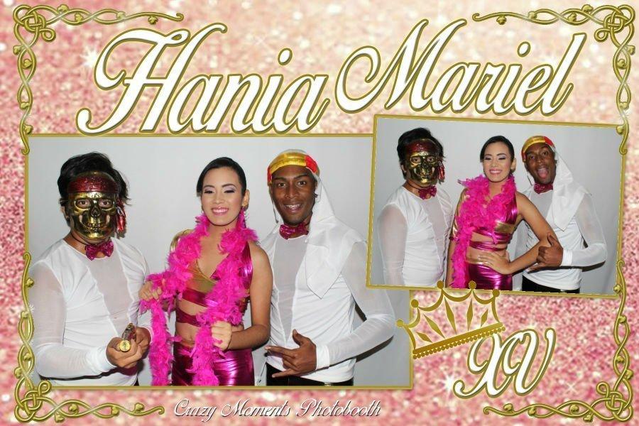 Quinceaños Hania Mariel