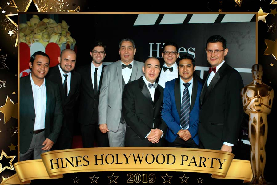 Hines Holywood Party
