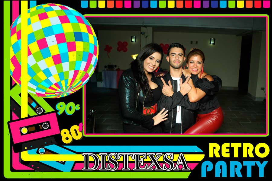 Retro Party Distexsa